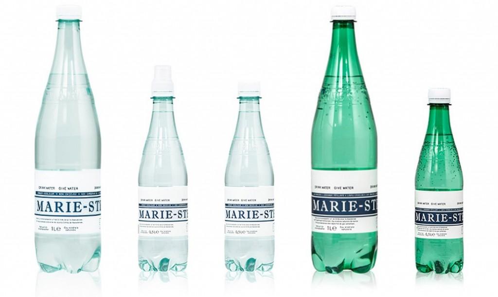 Marie Stella Maris flessen van 50% recycled PET